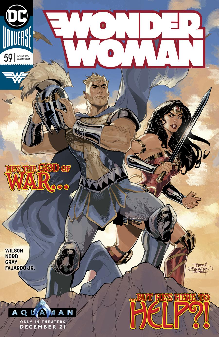 Wonder Woman Vol 5 #59 Cover A Regular Terry Dodson & Rachel Dodson Cover