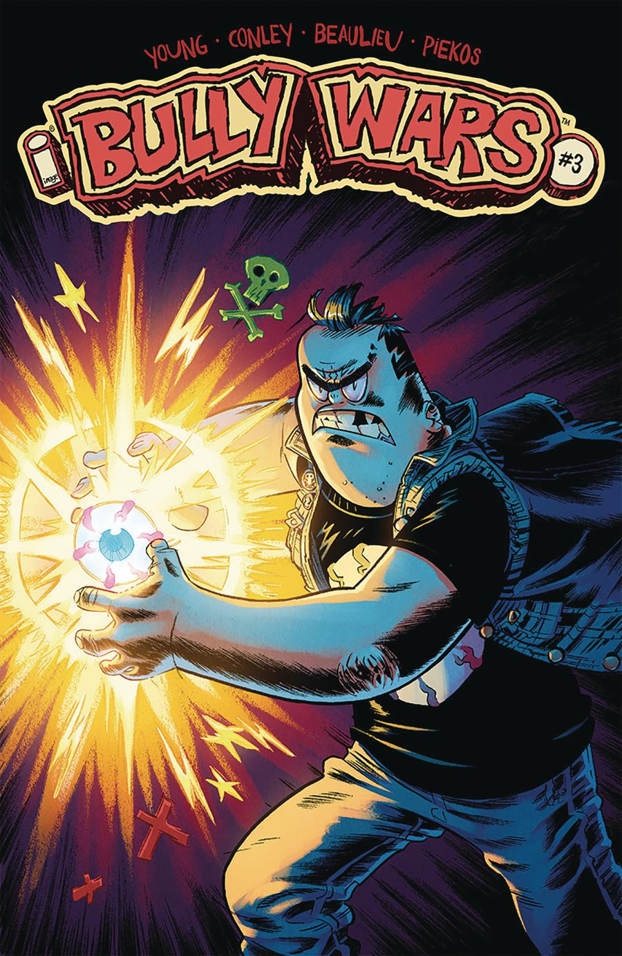 Bully Wars #3 Cover A Regular Aaron Conley Cover