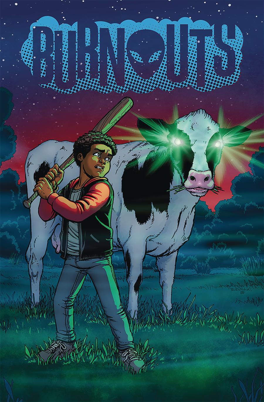 Burnouts #3 Cover A Regular Chris Burnham Cover