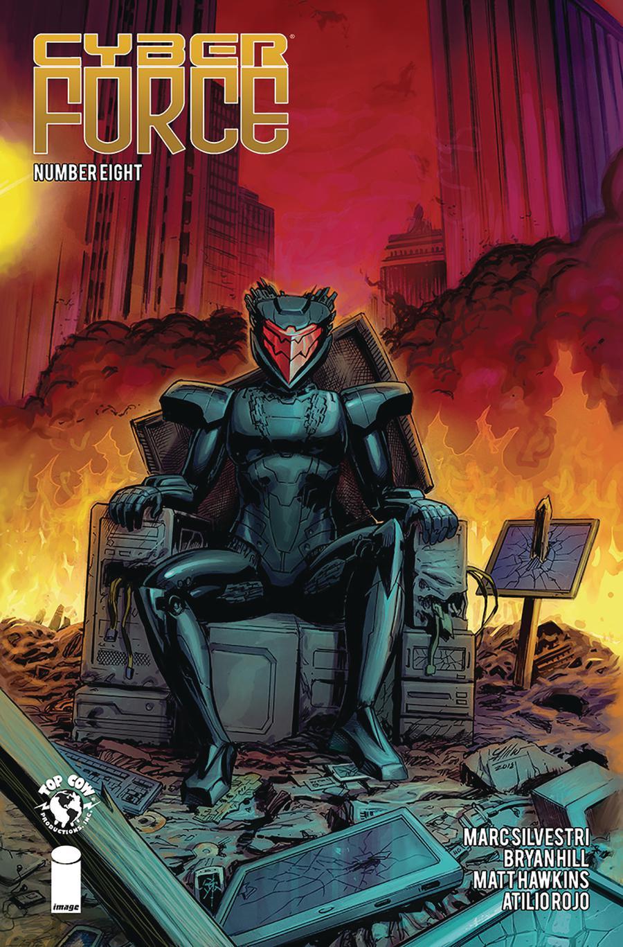 Cyberforce Vol 5 #8