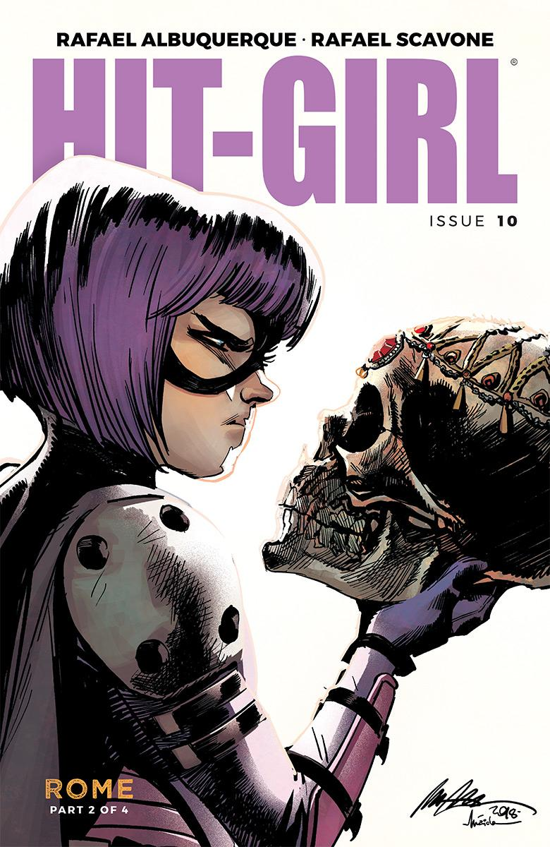 Hit-Girl Vol 2 #10 Cover A Regular Rafael Albuquerque Color Cover