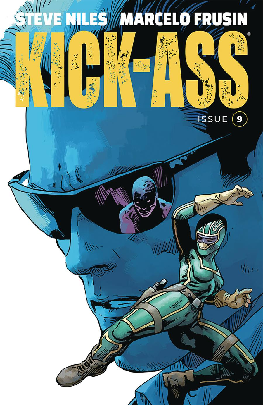 Kick-Ass Vol 4 #9 Cover A Regular Marcelo Frusin Color Cover