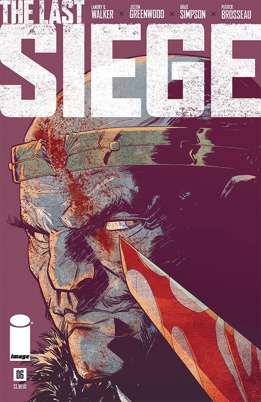 Last Siege #6 Cover A Regular Justin Greenwood Cover