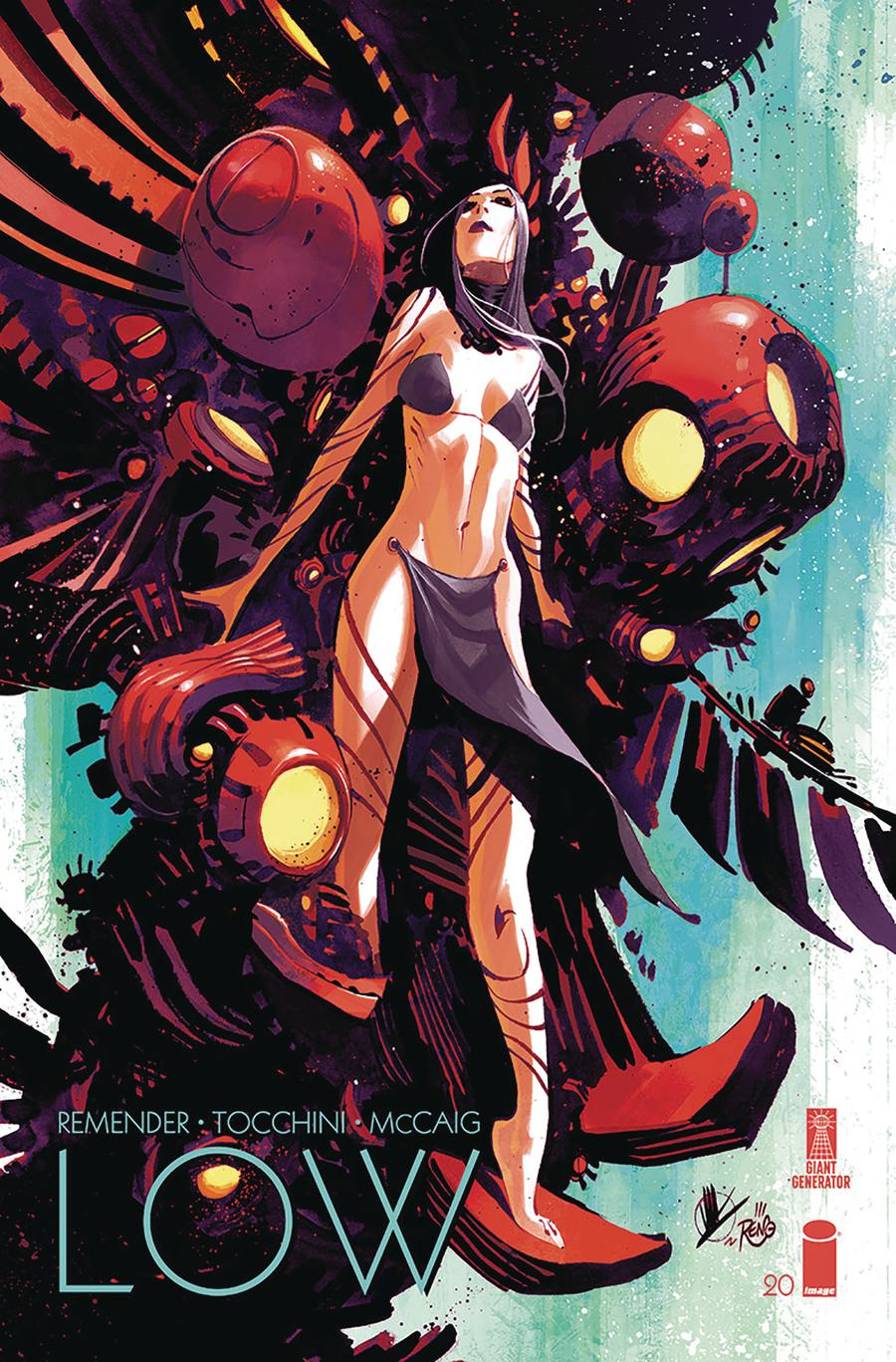 Low #20 Cover B Variant Matteo Scalera Cover