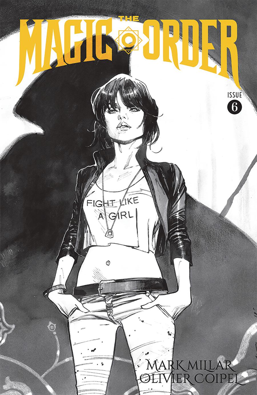 Magic Order #6 Cover B Variant Olivier Coipel Sketch Cover