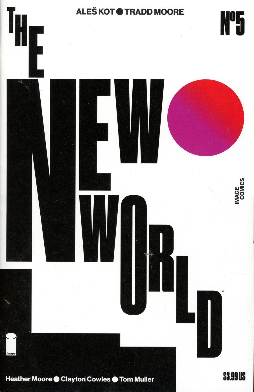 New World #5 Cover B Variant Tom Muller Cover
