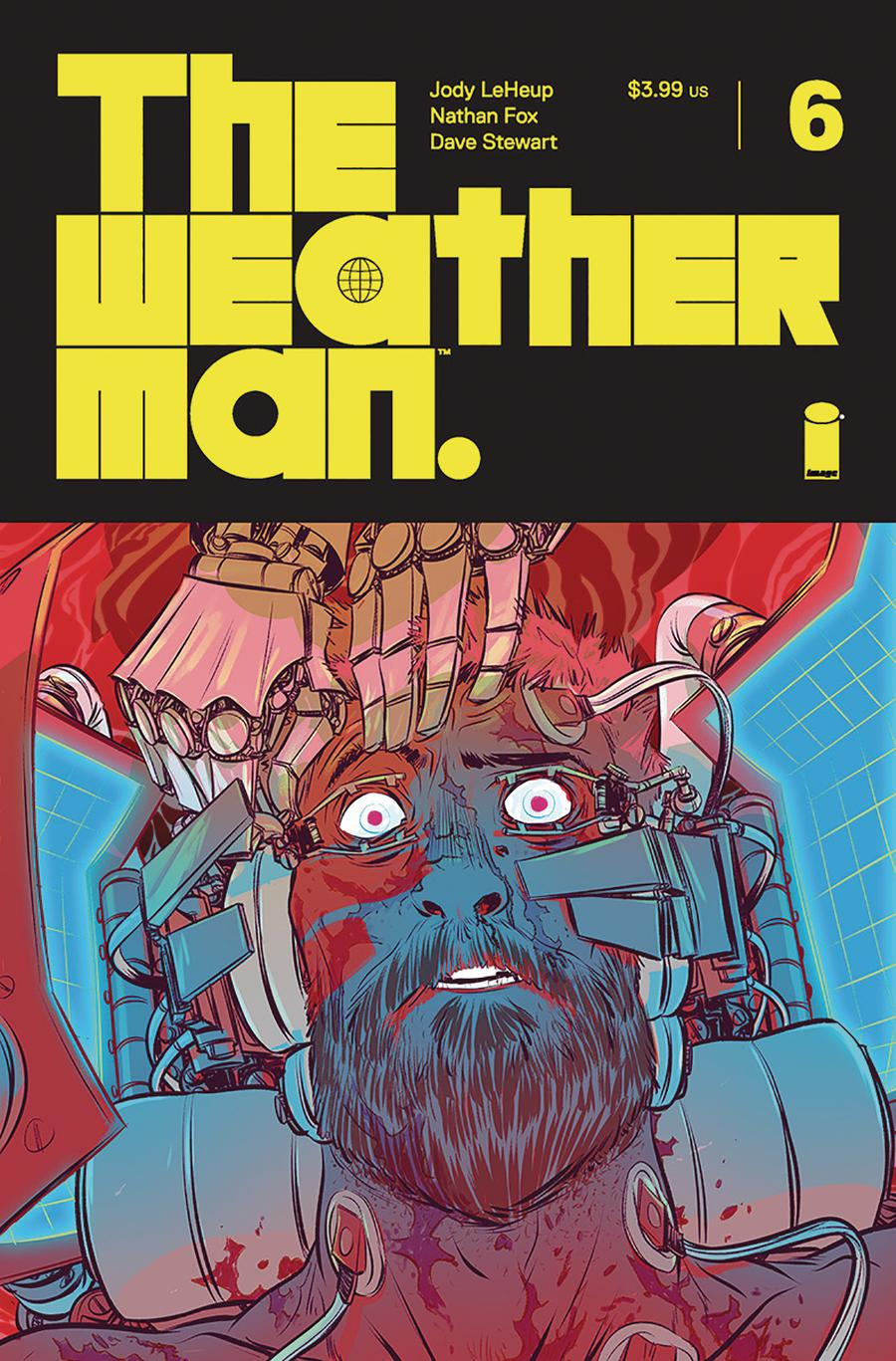 Weatherman #6 Cover A Regular Nathan Fox Cover