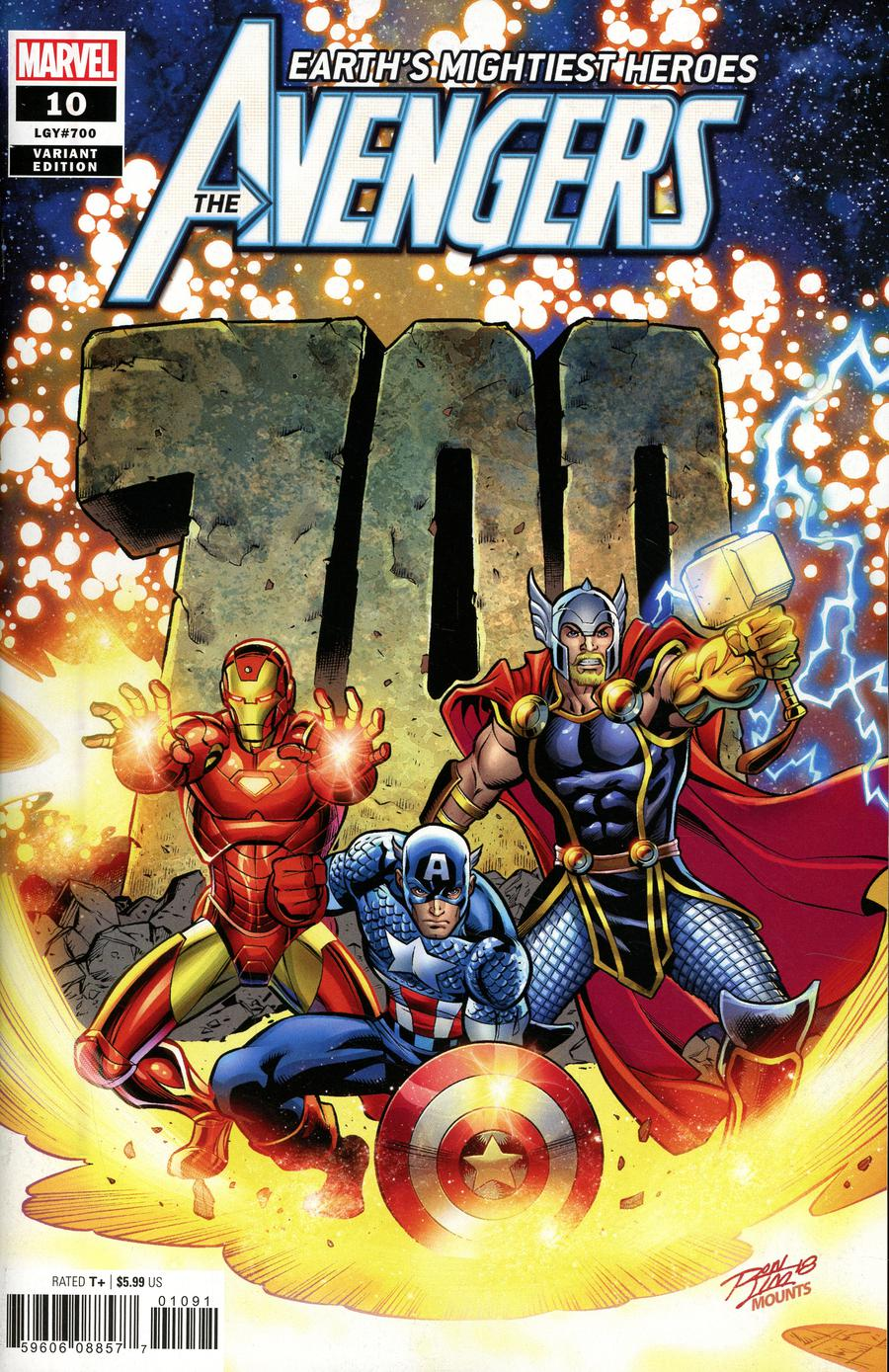 Avengers Vol 7 #10 Cover C Variant Ron Lim Cover (#700)