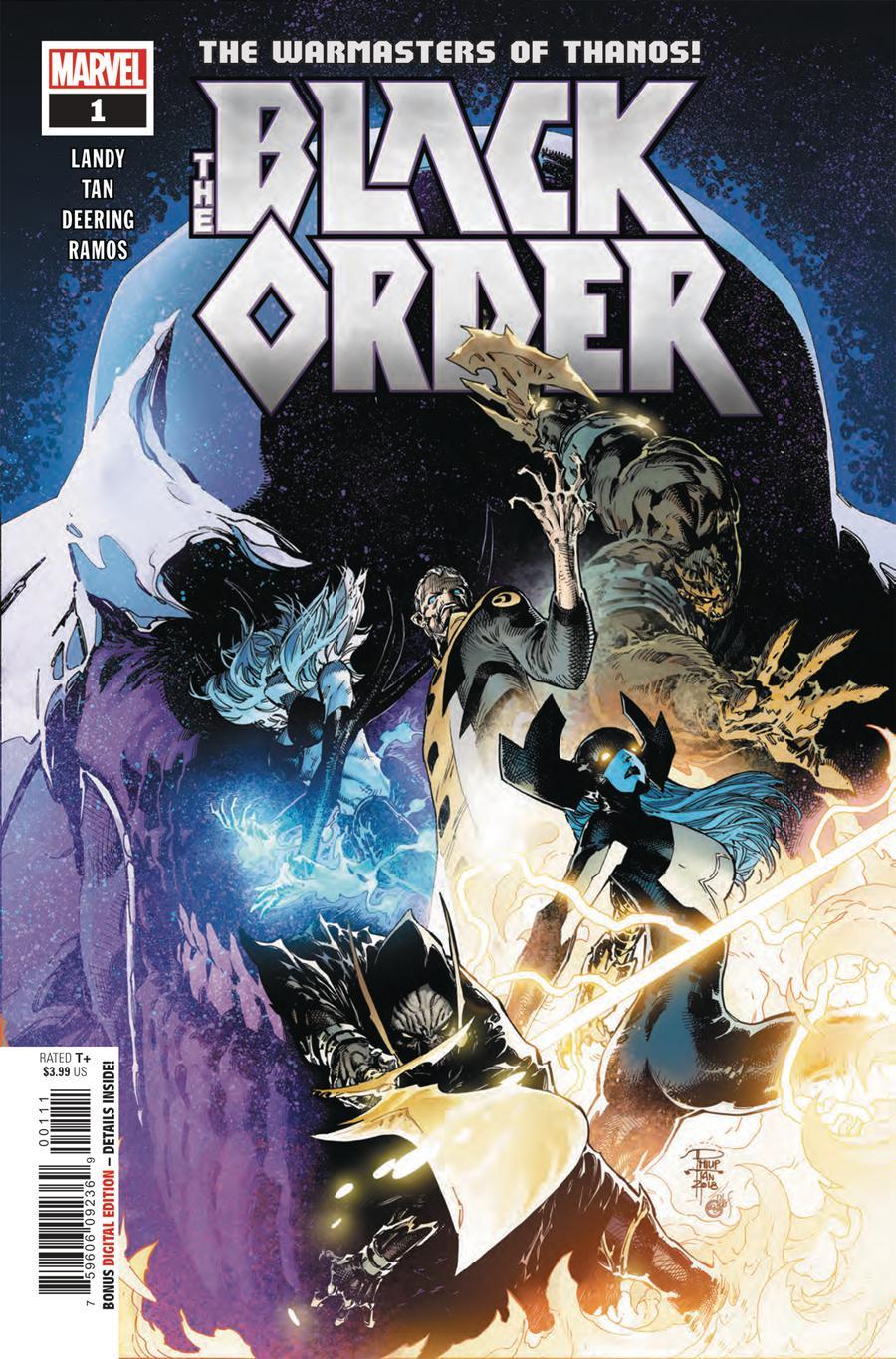 Black Order #1 Cover A Regular Philip Tan Cover