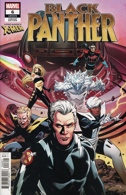 Black Panther Vol 7 #6 Cover B Variant Uncanny X-Men Cover