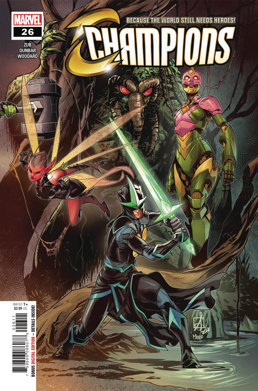 Champions (Marvel) Vol 2 #26 Cover A Regular Sean Izaakse Cover