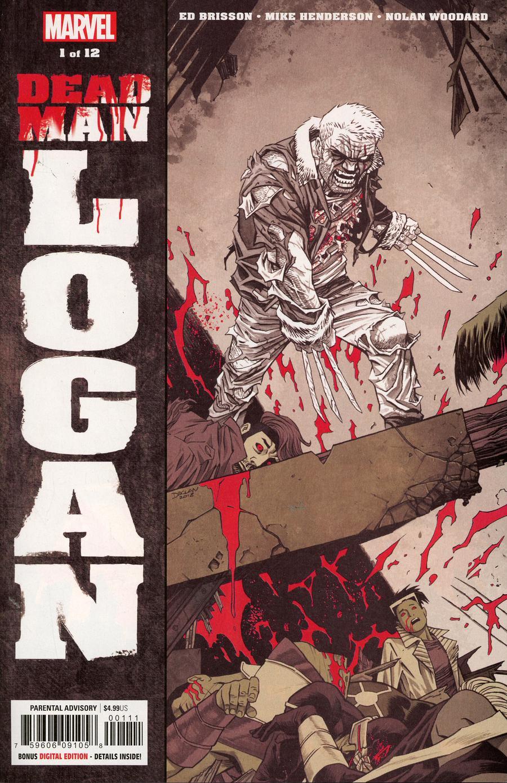 Dead Man Logan #1 Cover A 1st Ptg Regular Declan Shalvey Cover