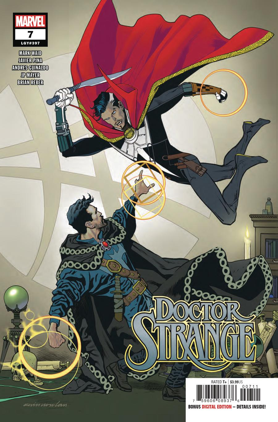 Doctor Strange Vol 5 #7 Cover A Regular Kevin Nowlan Cover