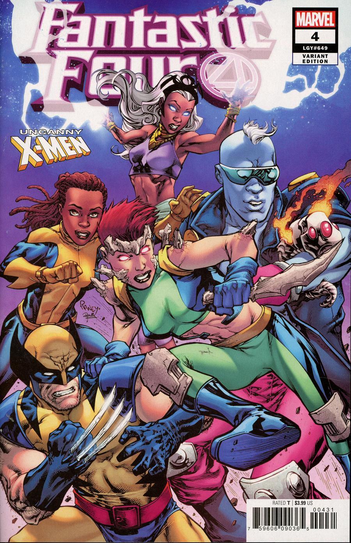 Fantastic Four Vol 6 #4 Cover B Variant Tom Raney Uncanny X-Men Cover