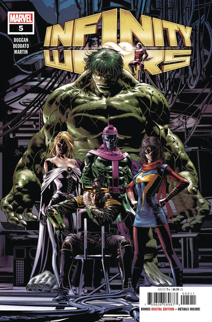 Infinity Wars #5 Cover A Regular Mike Deodato Jr Cover