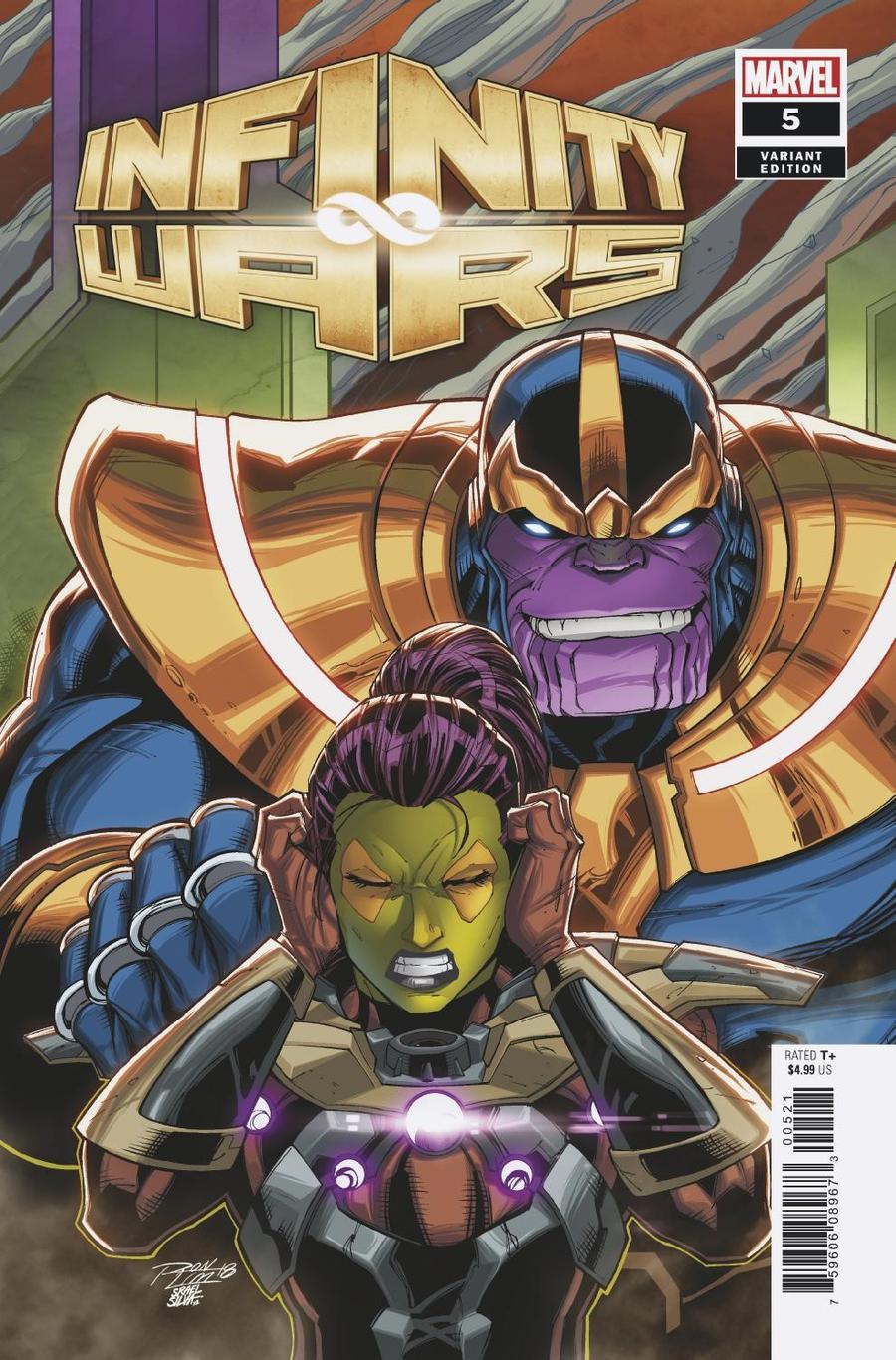 Infinity Wars #5 Cover B Variant Ron Lim Cover