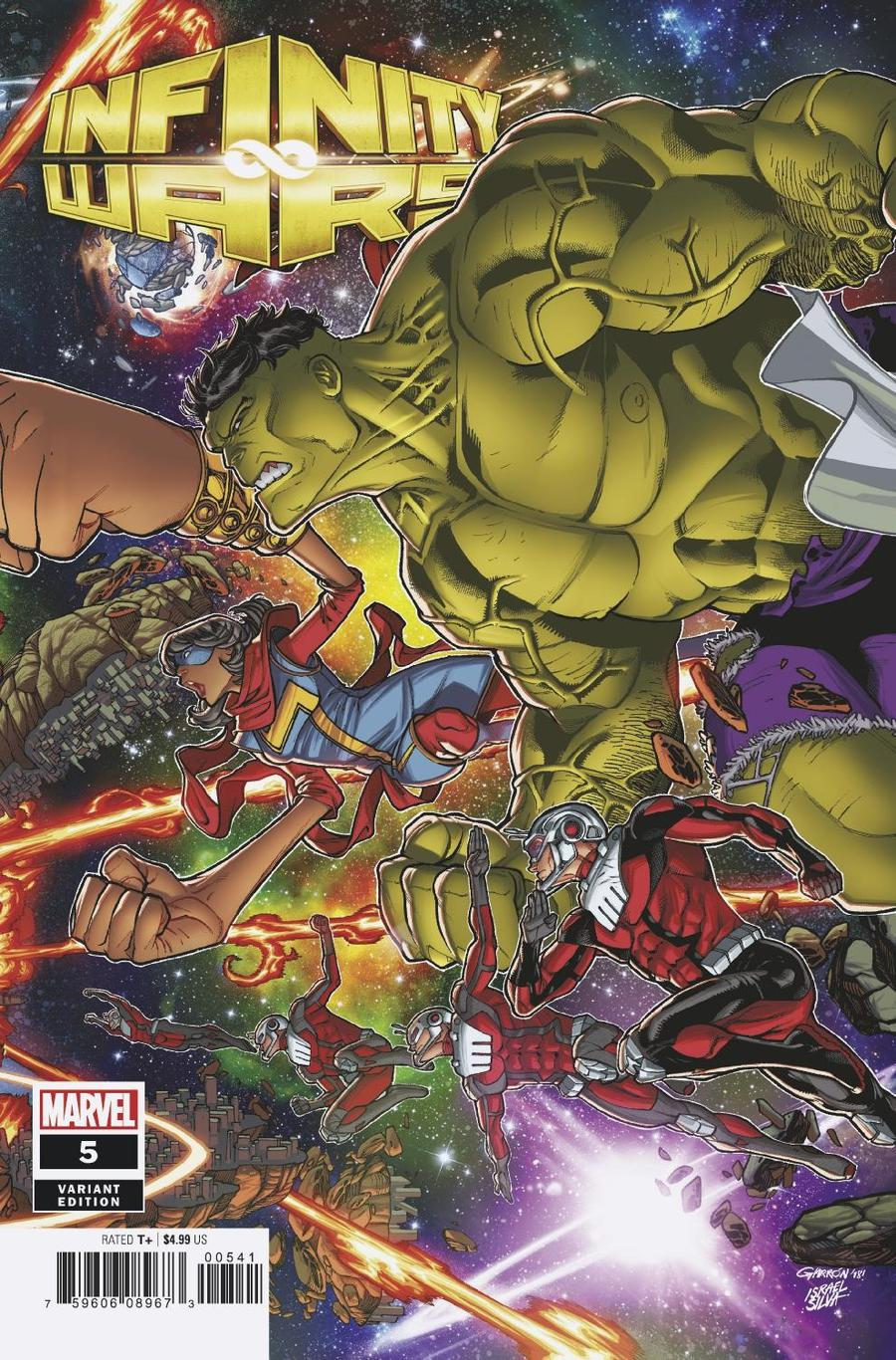 Infinity Wars #5 Cover D Variant Javier Garron Connecting Cover (5 Of 6)