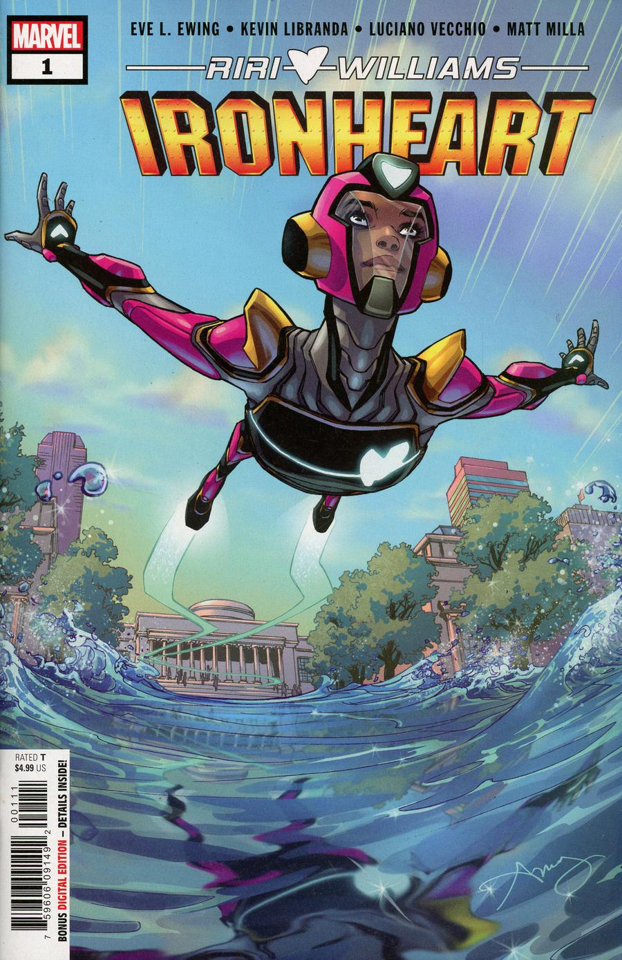 Ironheart #1 Cover A 1st Ptg Regular Amy Reeder Cover
