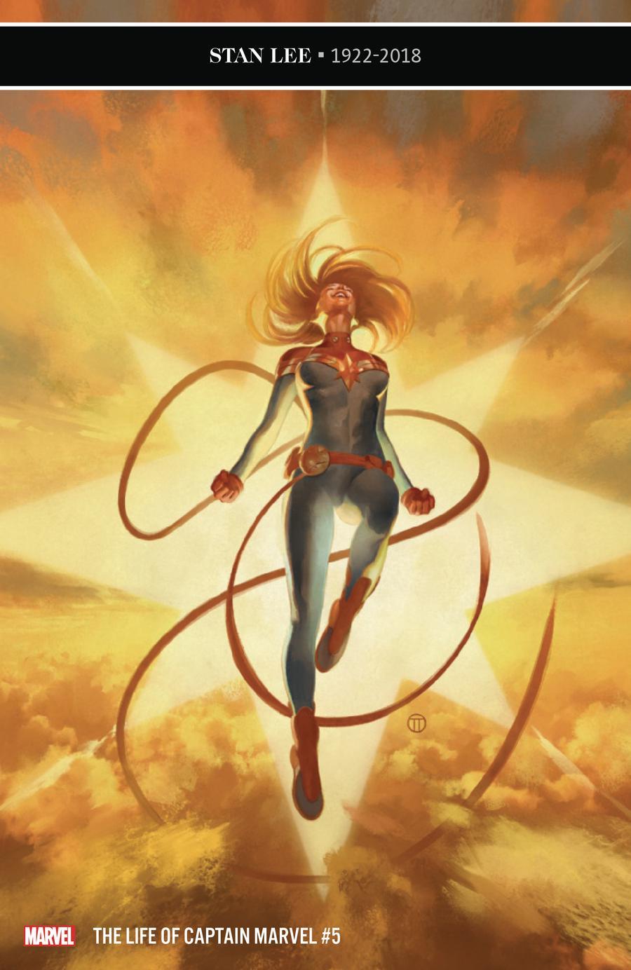 Life Of Captain Marvel Vol 2 #5 Cover A Regular Julian Totino Tedesco Cover