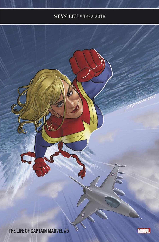 Life Of Captain Marvel Vol 2 #5 Cover B Variant Joe Quinones Cover