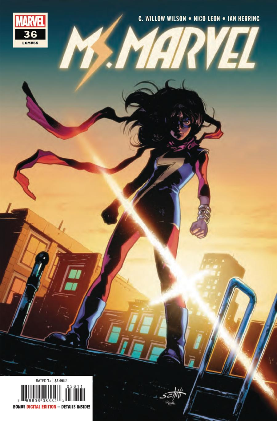 Ms Marvel Vol 4 #36