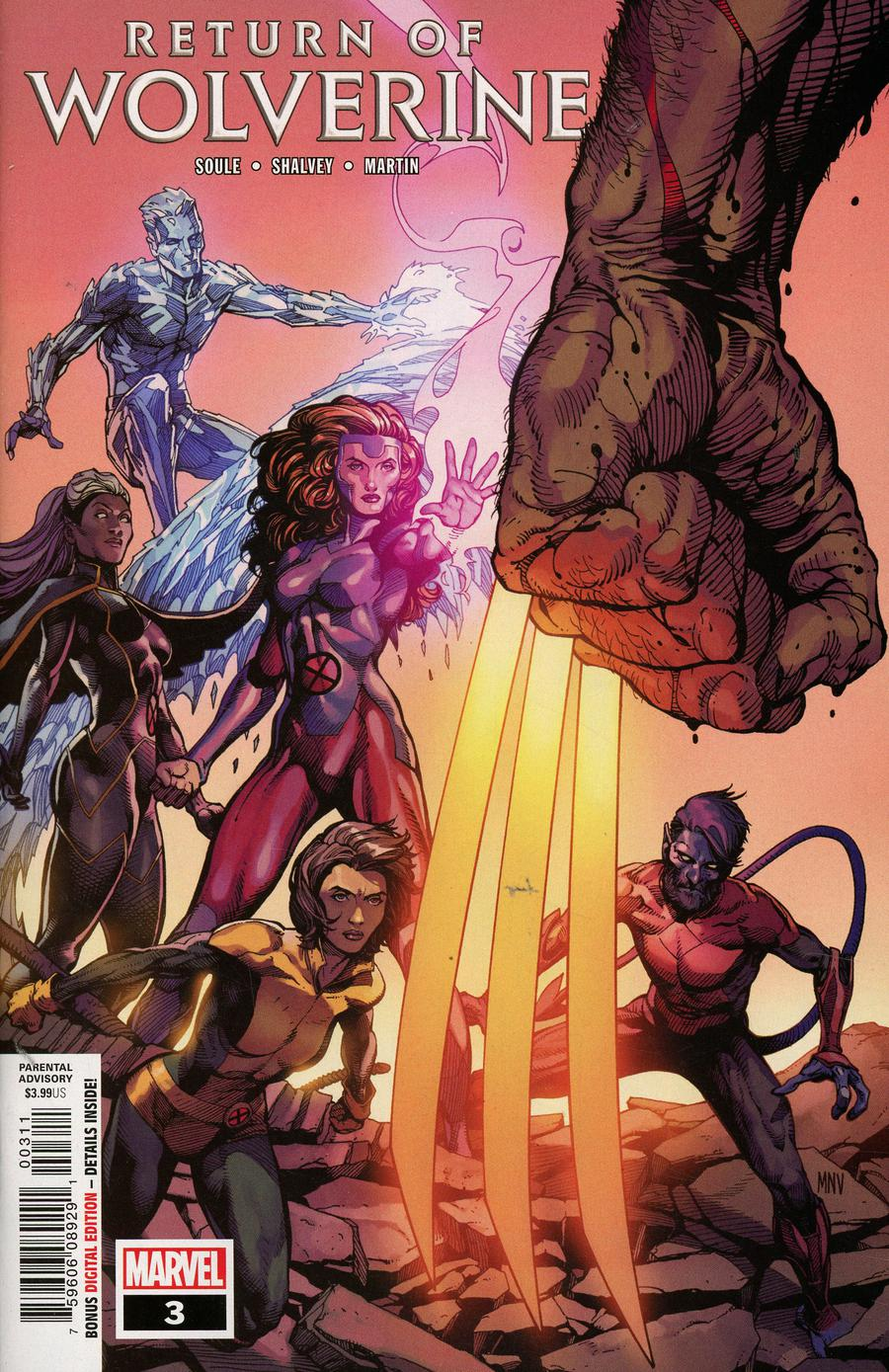 Return Of Wolverine #3 Cover A Regular Steve McNiven Cover
