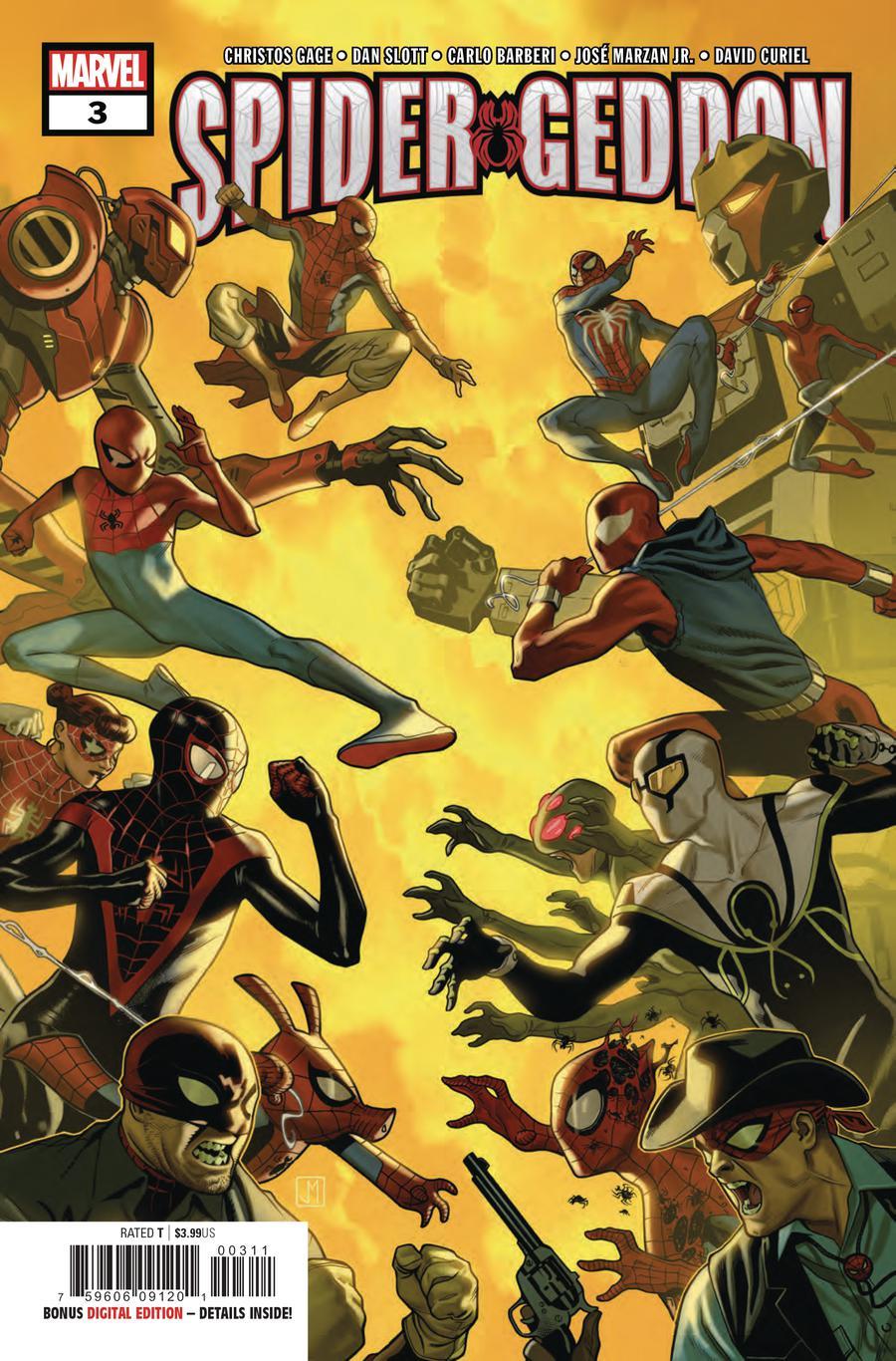 Spider-Geddon #3 Cover A 1st Ptg Regular Jorge Molina Cover
