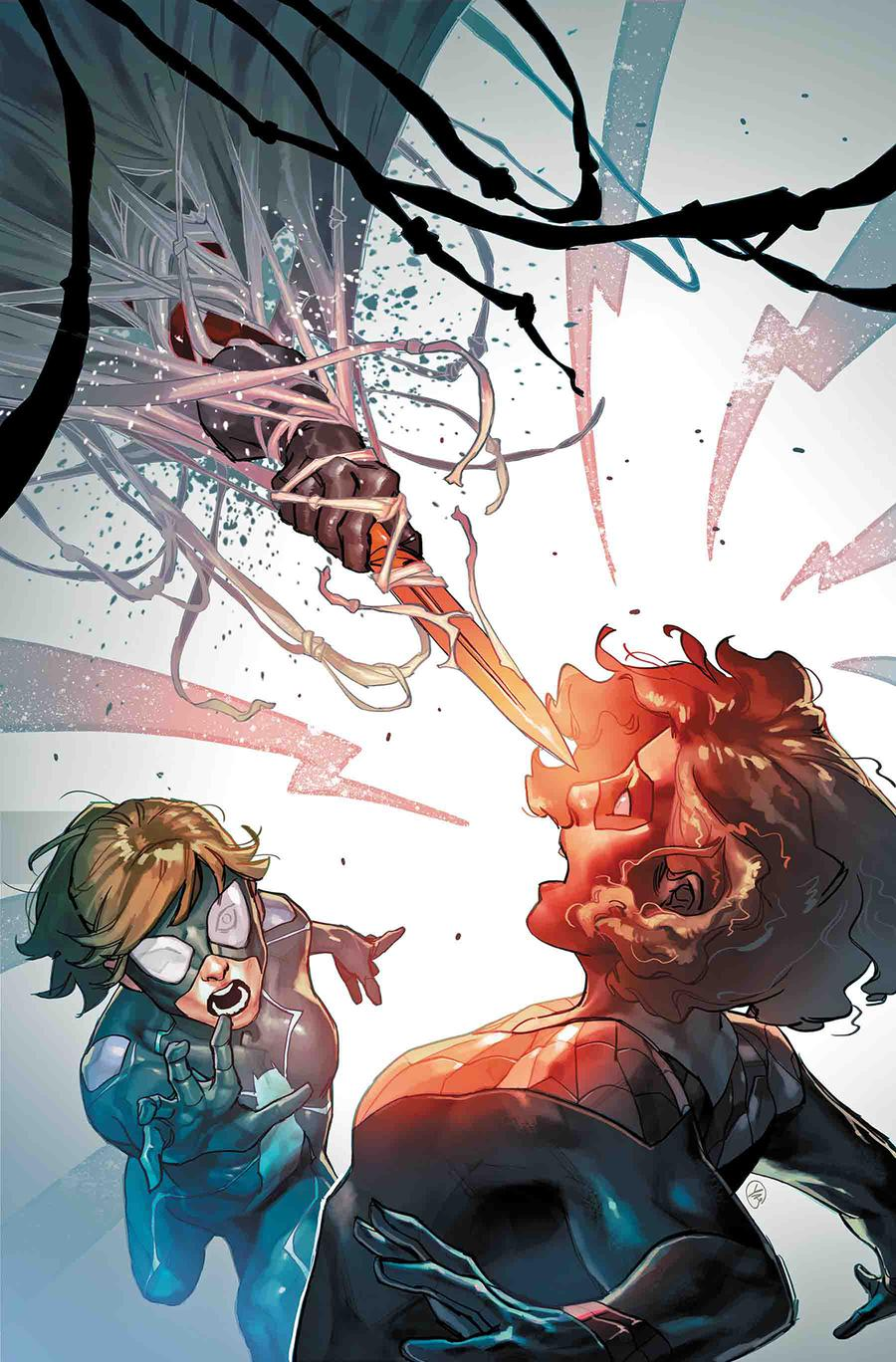 Spider-Girls #2 Cover A Regular Yasmine Putri Cover (Spider-Geddon Tie-In)