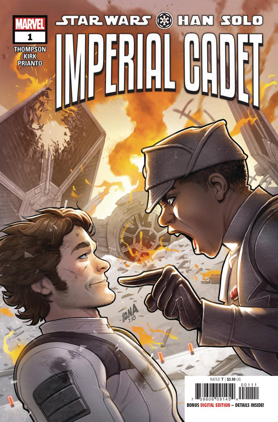 Star Wars Han Solo Imperial Cadet #1 Cover A Regular David Nakayama Cover