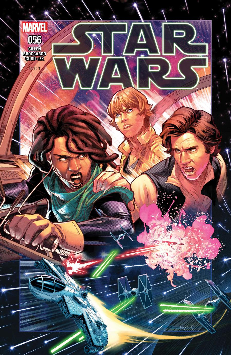 Star Wars Vol 4 #56 Cover A Regular Jamal Campbell Cover