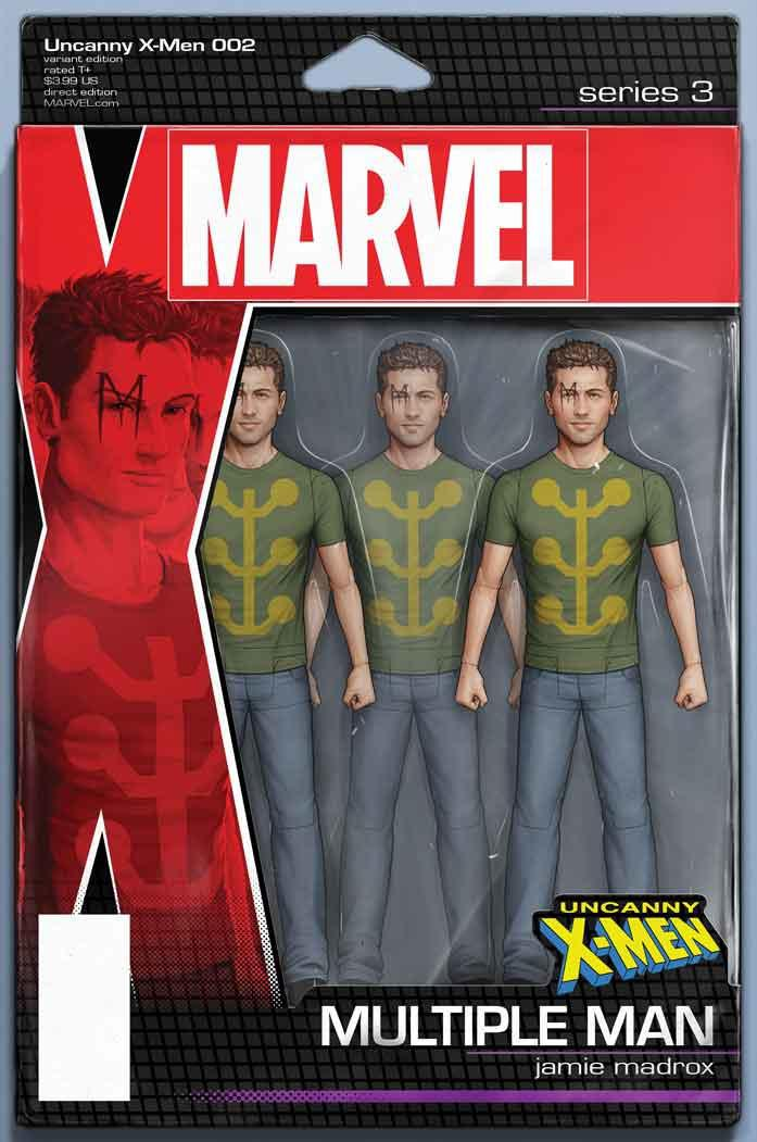 Uncanny X-Men Vol 5 #2 Cover B Variant John Tyler Christopher Action Figure Cover
