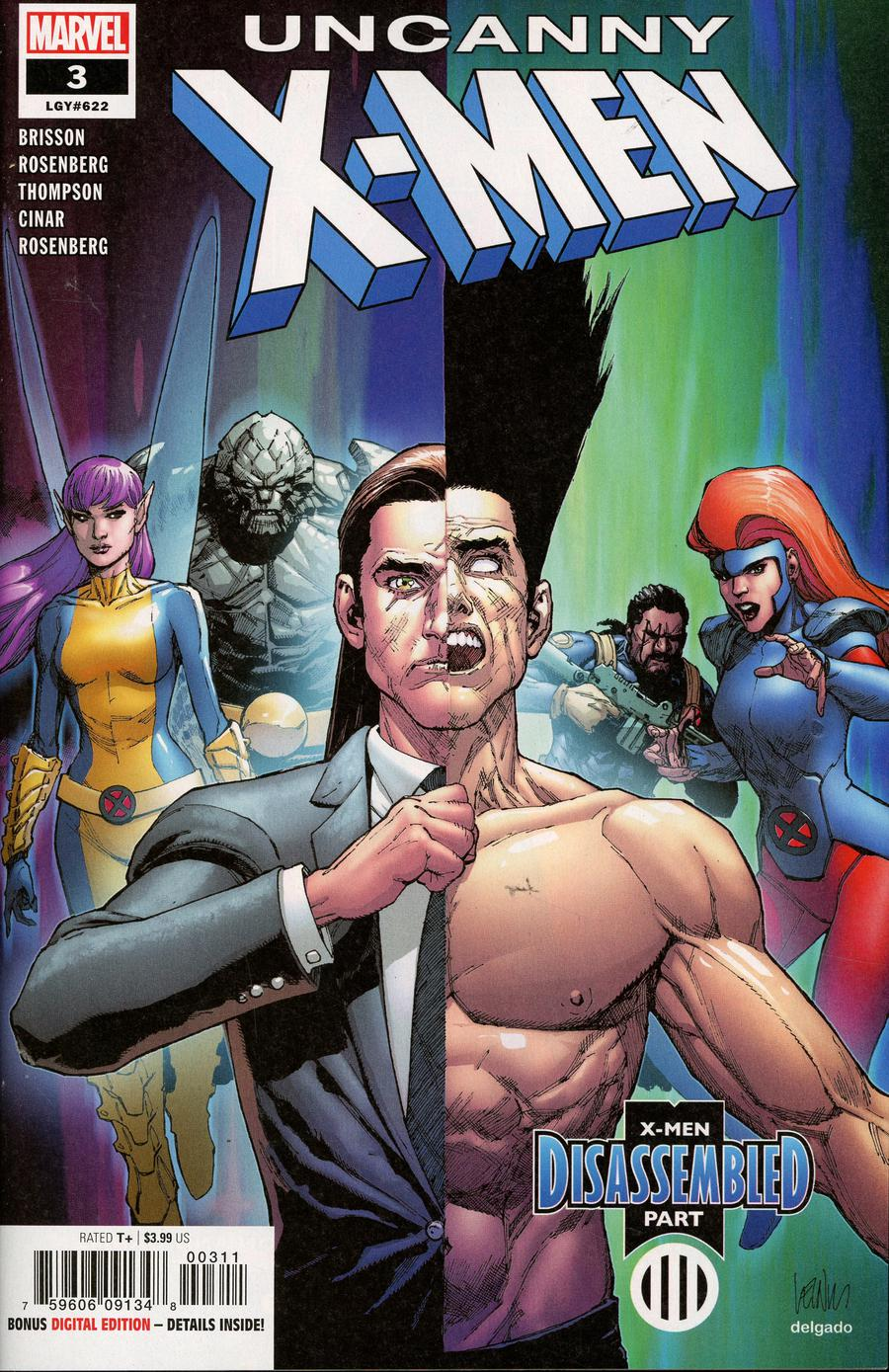 Uncanny X-Men Vol 5 #3 Cover A 1st Ptg Regular Leinil Francis Yu Cover