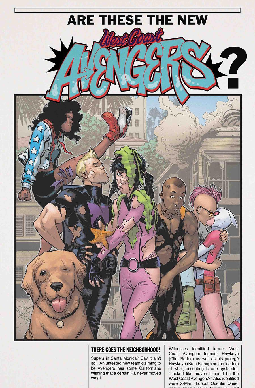 West Coast Avengers Vol 3 #4 Cover A Regular Stefano Caselli Cover