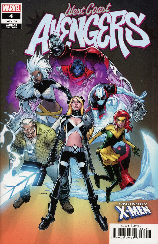 3 #7 Comic Book Vol Marvel The West Coast Avengers