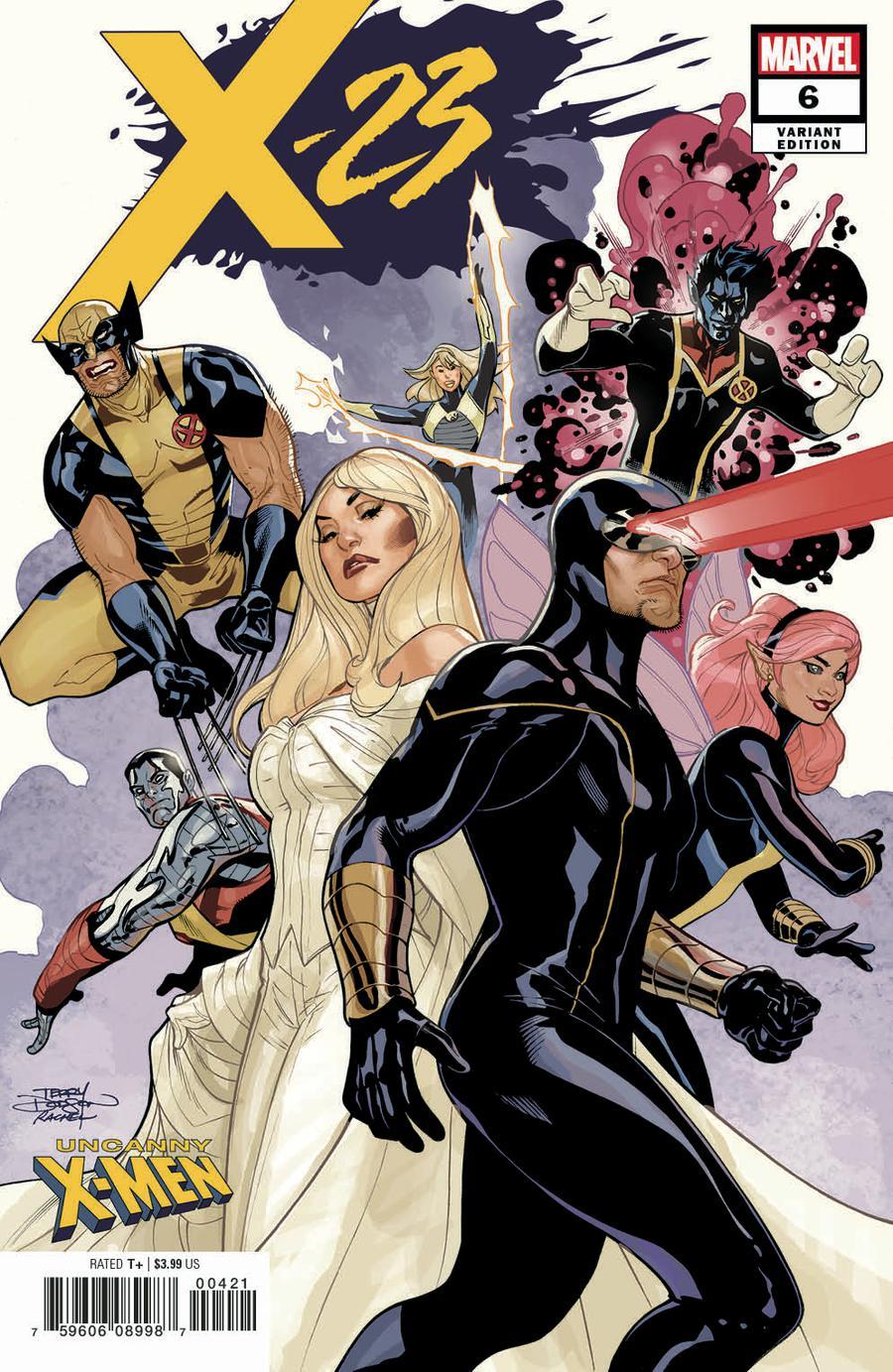 X-23 Vol 3 #6 Cover B Variant Terry Dodson Uncanny X-Men Cover