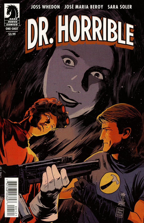 Dr Horrible Best Friends Forever #0 Cover B Variant Francesco Francavilla Cover