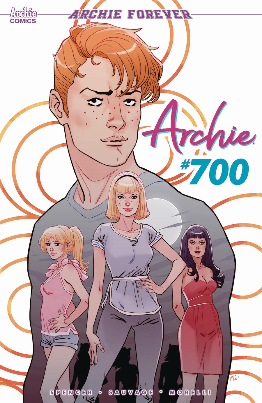 Archie Vol 2 #700 Cover A Regular Marguerite Sauvage Cover