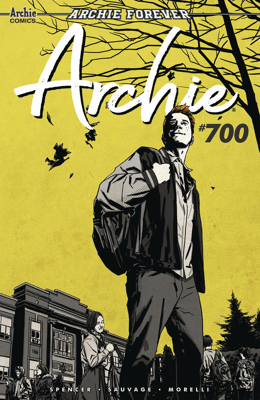 Archie Vol 2 #700 Cover C Variant Matthew Dow Smith Cover