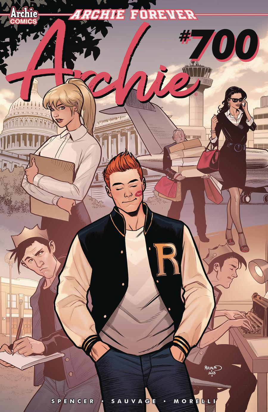 Archie Vol 2 #700 Cover I Variant Paul Renaud Cover