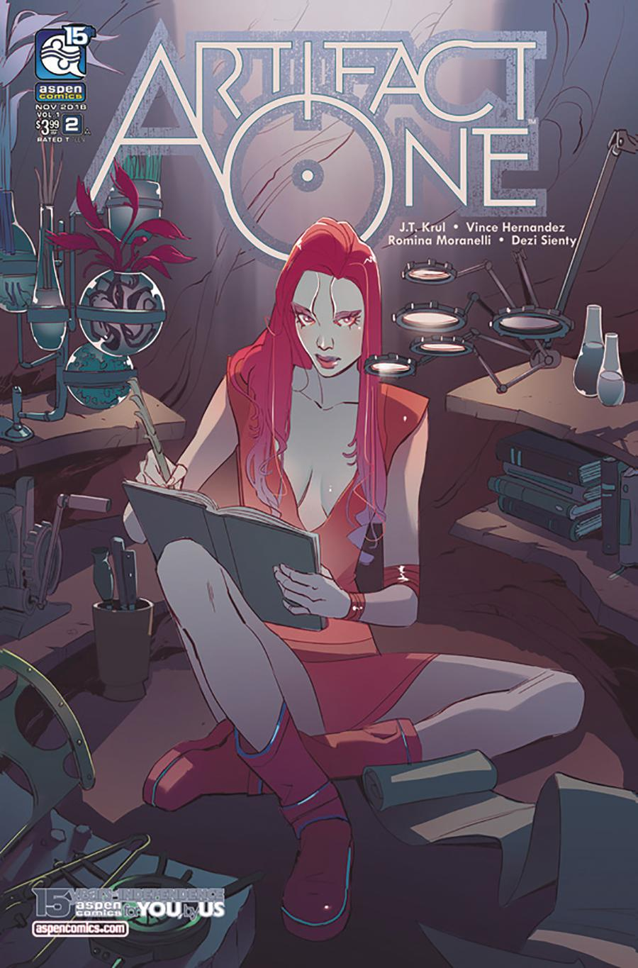 Artifact One #2 Cover A Regular Romina Moranelli Cover