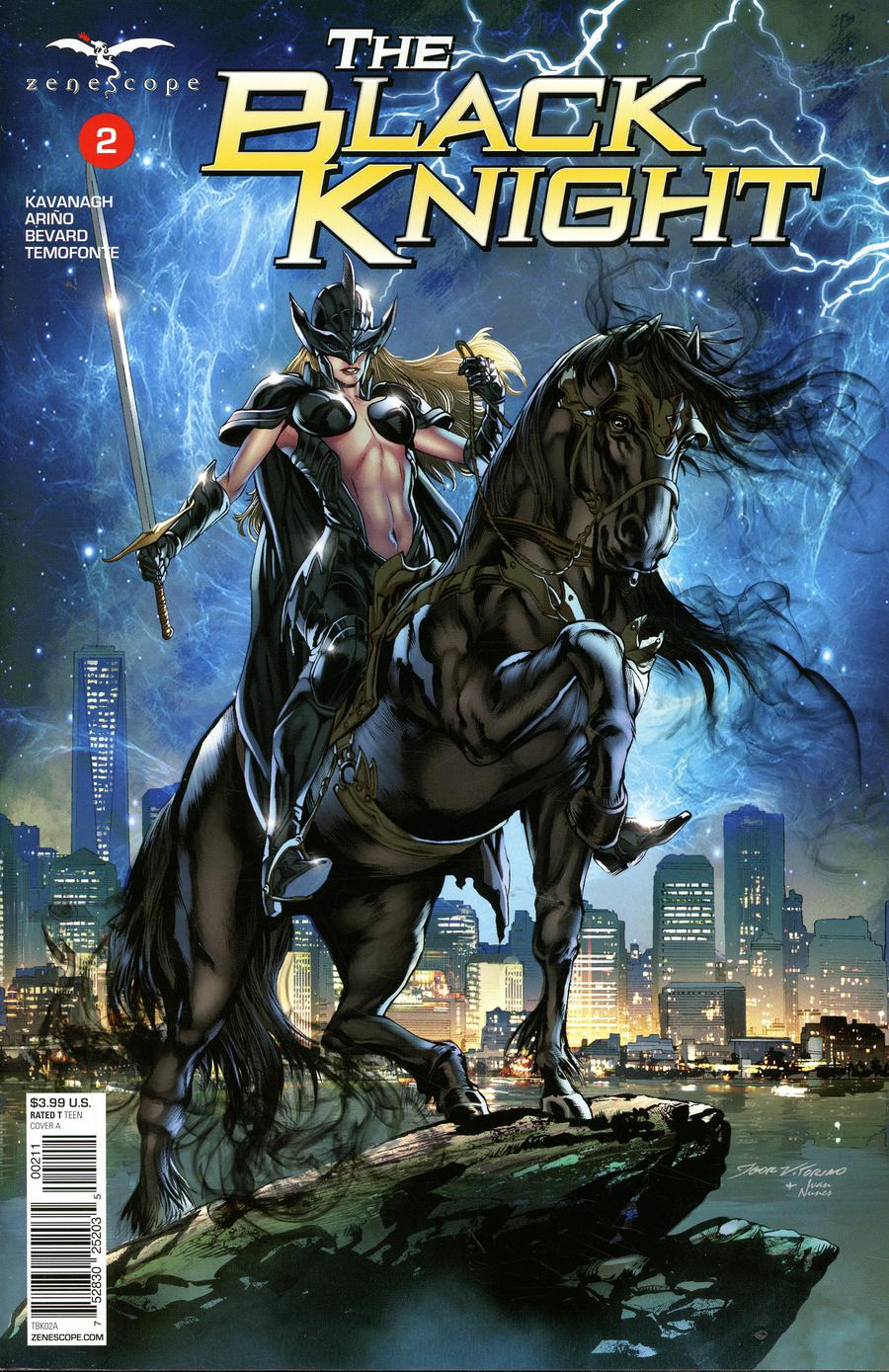Grimm Fairy Tales Presents Black Knight #2 Cover A Igor Vitorino