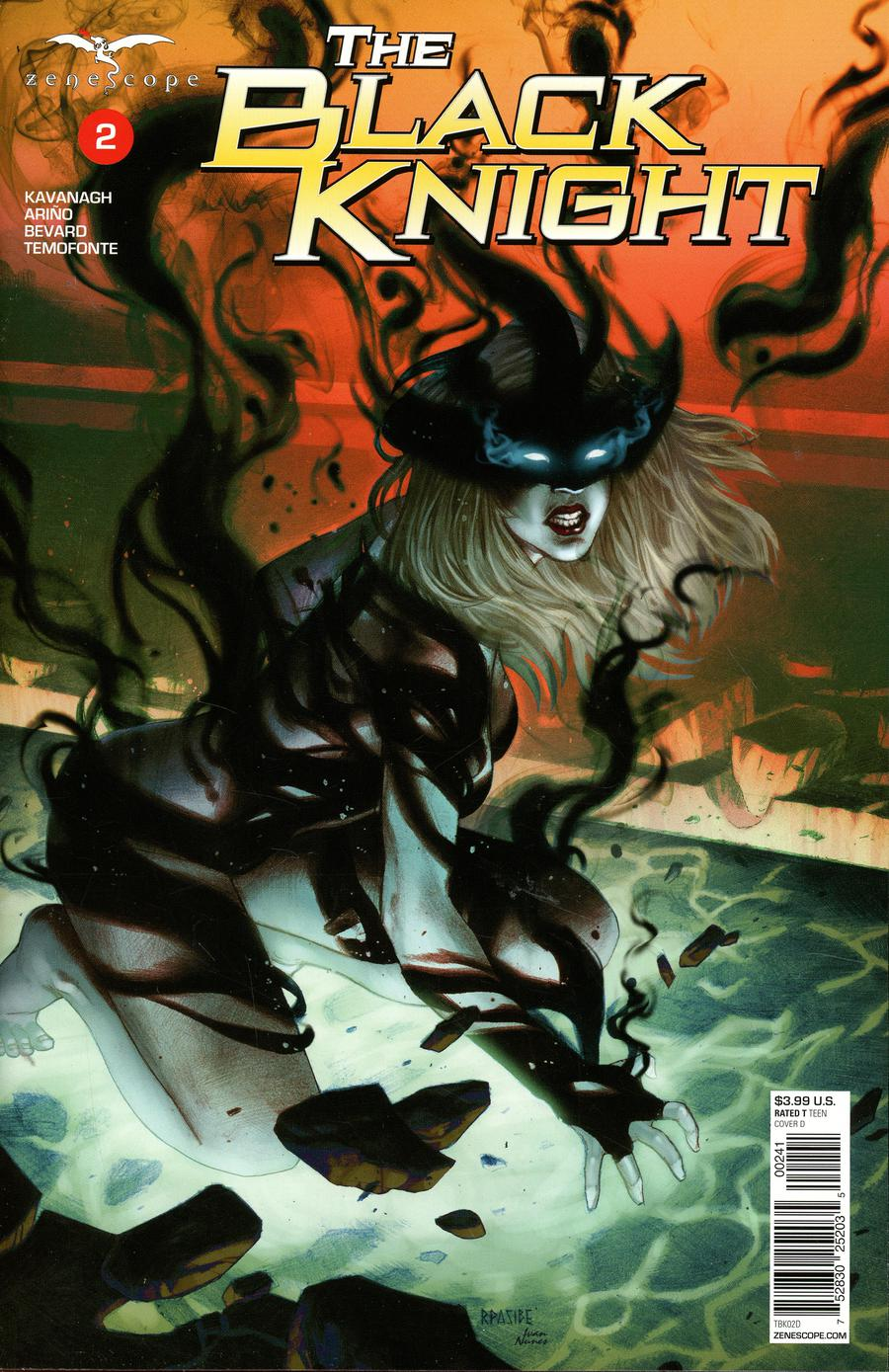 Grimm Fairy Tales Presents Black Knight #2 Cover D Ryan Pasibe