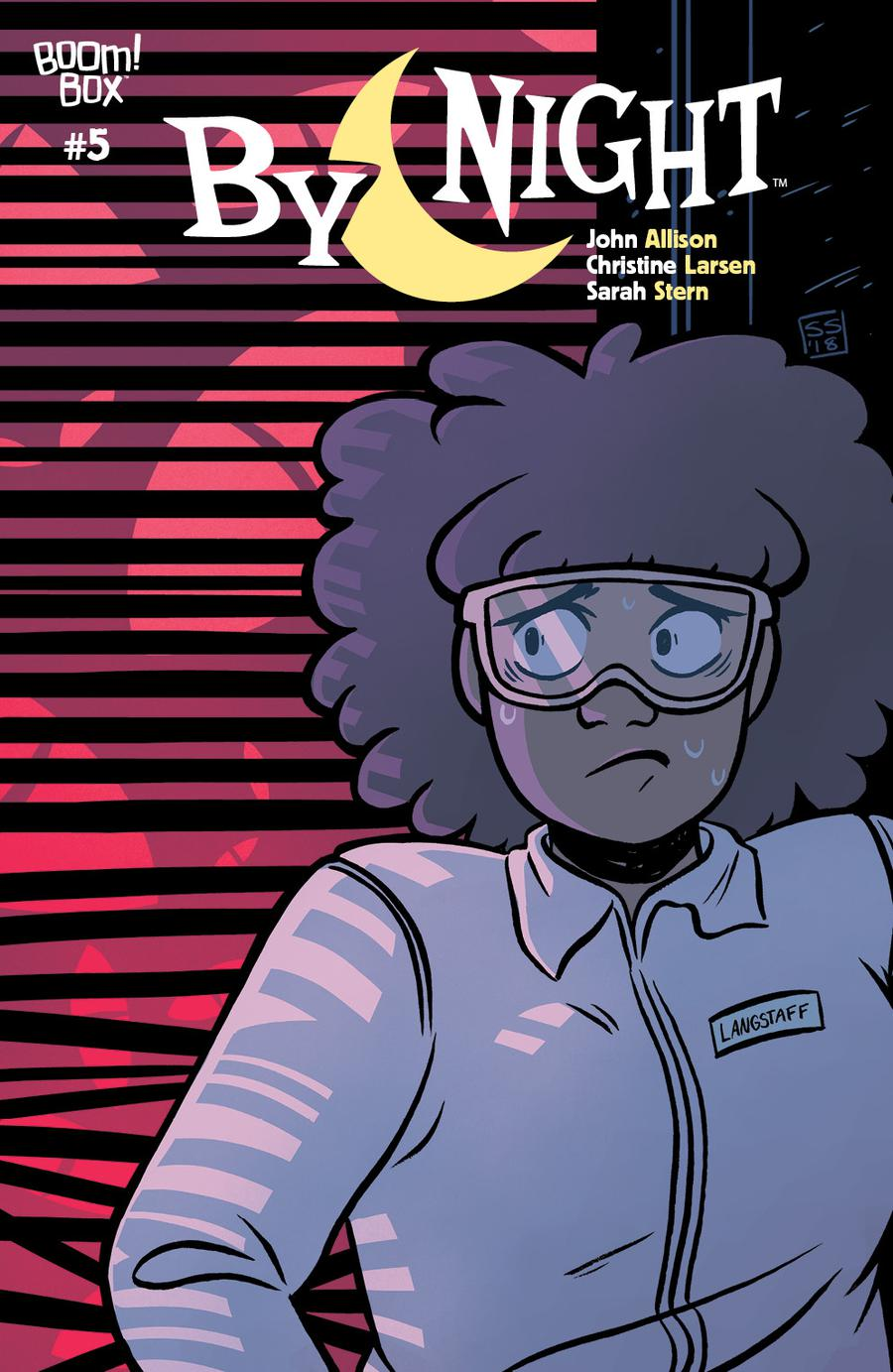 By Night #5 Cover B Variant Sarah Stern Preorder Cover