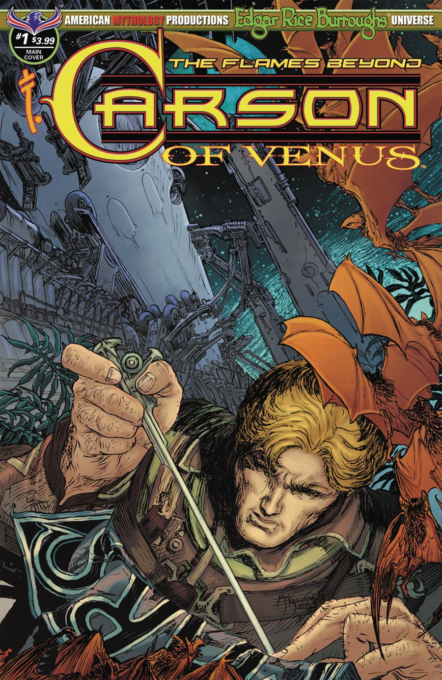 Carson Of Venus Flames Beyond #1 Cover A Regular Michael William Kaluta Cover