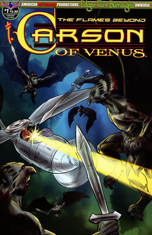 Carson Of Venus Flames Beyond #1 Cover B Variant Cyrus Mesarcia Cover