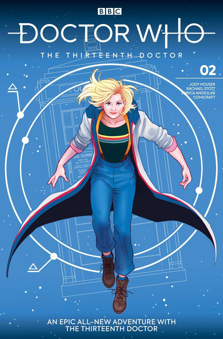 Doctor Who 13th Doctor #2 Cover A 1st Ptg Regular Paulina Ganucheau Cover