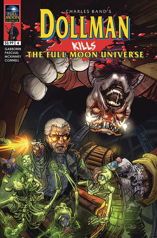 Dollman Kills The Full Moon Universe #4 Cover B Variant Jason Strutz Cover