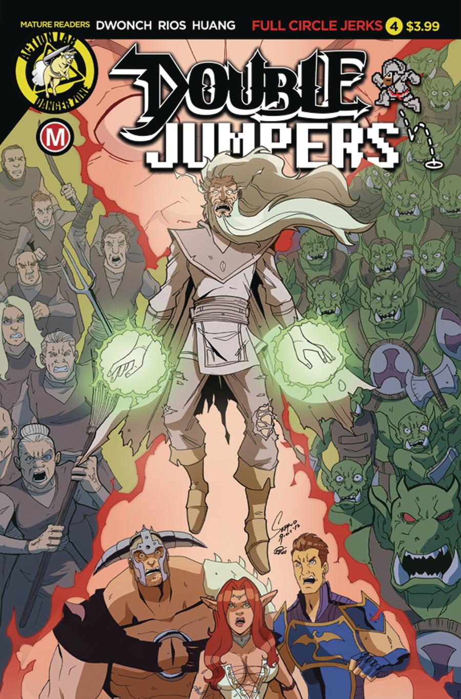 Double Jumpers Full Circle Jerks #4 Cover A Regular Sergio Rios Cover