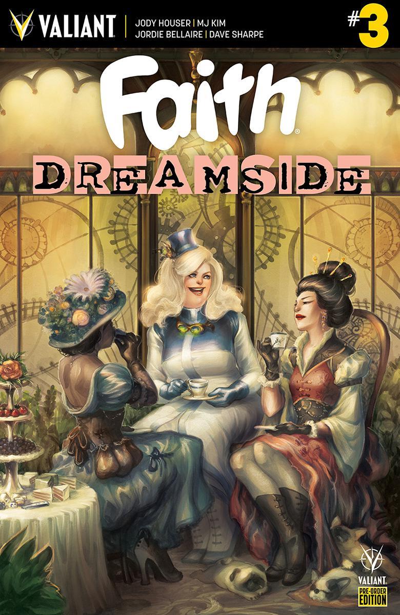 Faith Dreamside #3 Cover C Variant Meghan Hetrick Cover