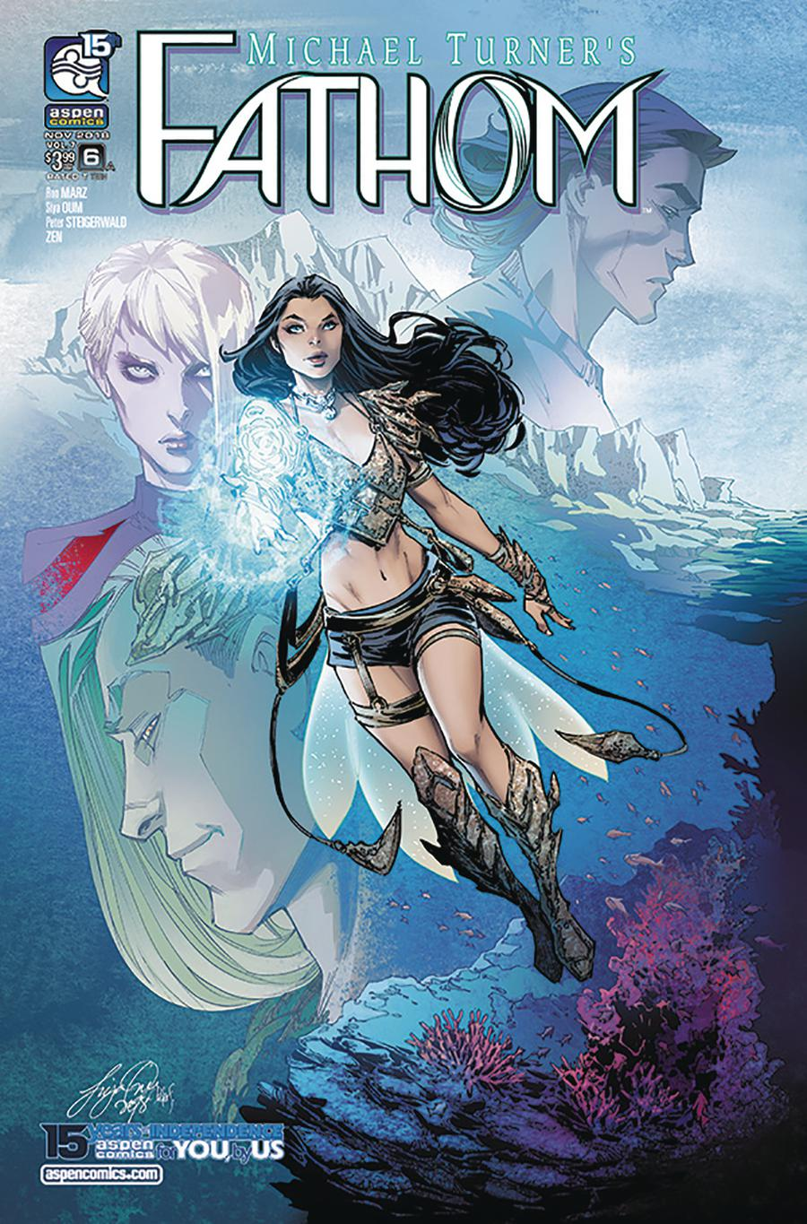 Fathom Vol 5 #6 Cover A Regular Siya Oum Cover